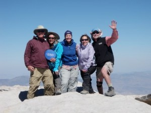 USANA gear on Mt. Whitney