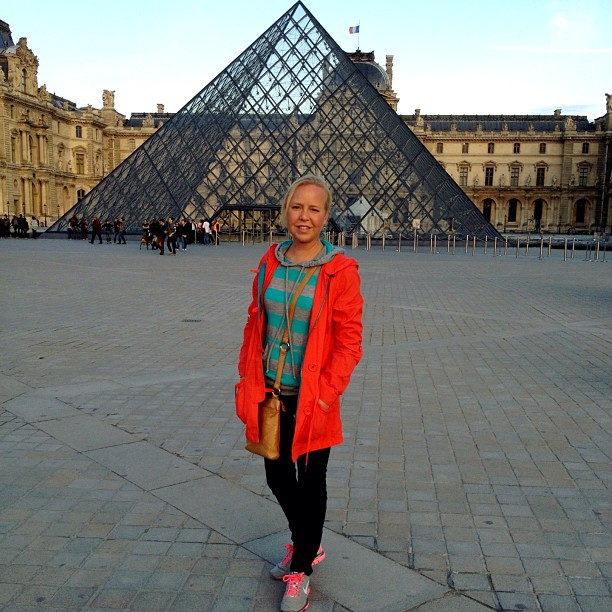 Sharlie at the Louvre
